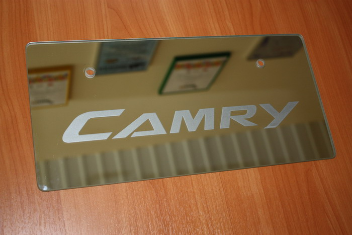 "МР ""Левша"", г.Братск - Транспорт: Табличка на автомобиль ""CAMRY"""